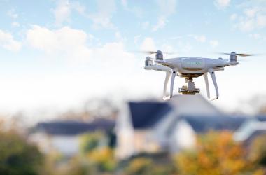 Dachinspektion mit Drohnentechnik